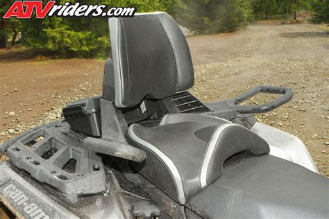 passenger seat for atv can am outlander max two up 4x4 utility atv review