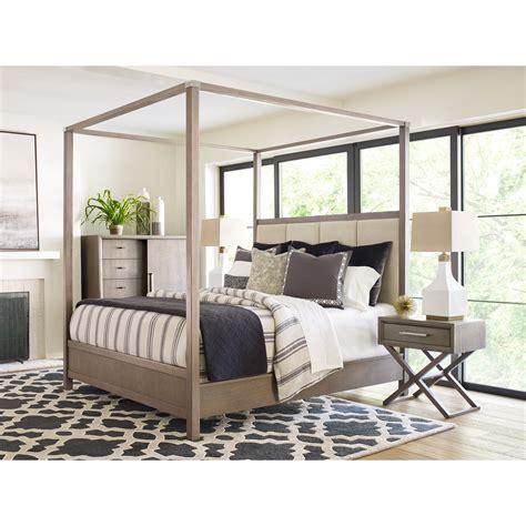 rachael home highline king upholstered poster bed