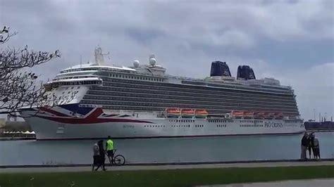 el crucero britannia en las palmas de gran canaria youtube