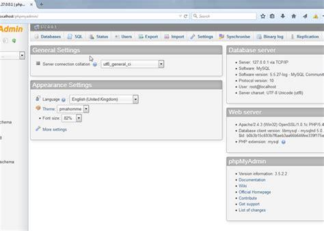 membuat database di mysql command line membuat database dan table mysql menggunakan phpmyadmin