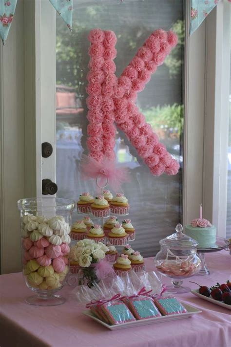 Shabby Chic Birthday Decorations by Shabby Chic Garden Birthday Ideas Photo 14