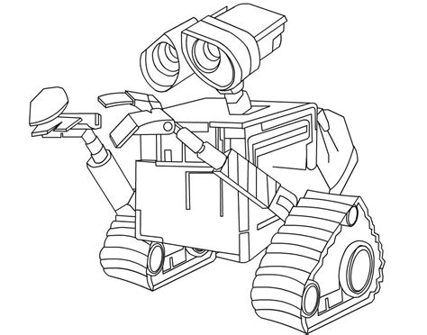 Wall E Coloring Pages by Wall E And Coloring Pages Coloring Home
