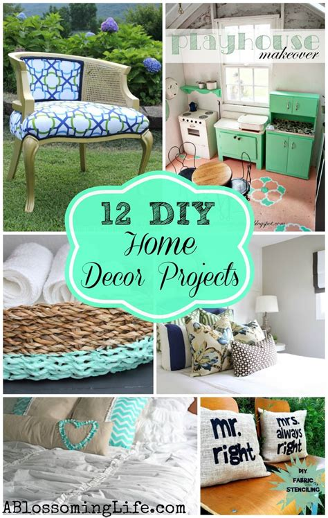 inspiring home decor 12 inspiring diy home decor projects jpg glavportal