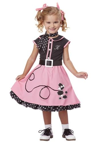 50 girl halloween costumes toddler 50s poodle cutie costume