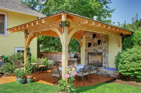 gazebo designs for backyards how to turn your backyard into a fun outdoor living area