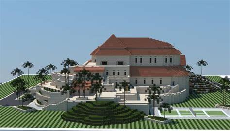 Sandstone Mansion ? Minecraft House Design