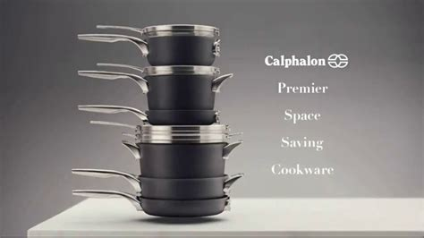 Calphalon Premier Space Saving Cookware TV Commercial