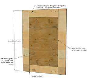 make a cabinet door white build a easy frame and panel doors free and