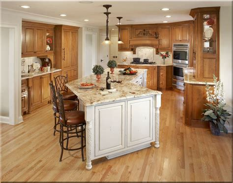 kitchen gorgeous kitchen design with brown oak wooden