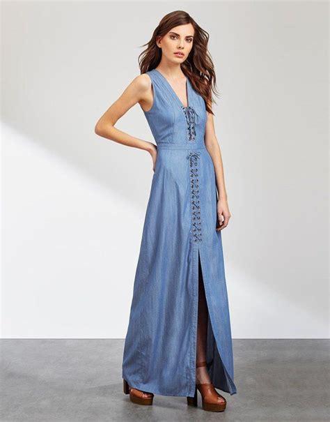 Denima Maxy Dress 17 best ideas about denim maxi dress on maxi