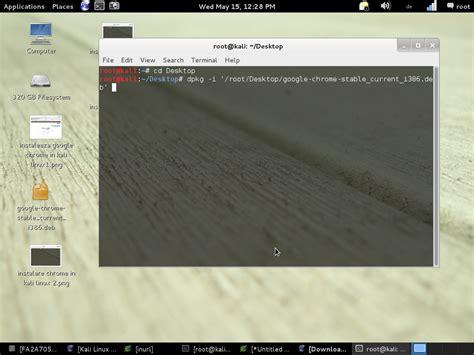 chrome kali linux instalarea browser ului google chrome in kali linux partea
