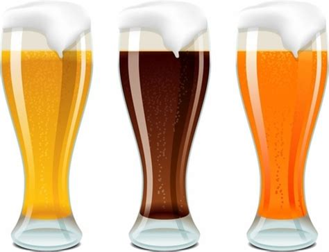 Beer Glass Free Illustrator Vectors Free Vector Download