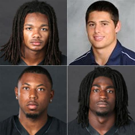 rape case section four vanderbilt football players collared for raping an