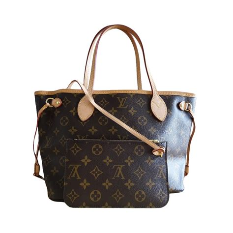 louis vuitton neverfull pm monogram canvas handbag modsie