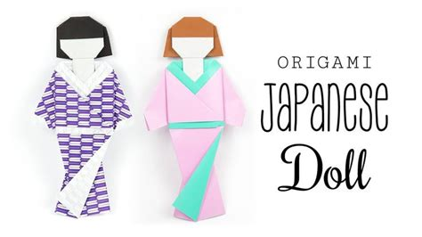 Origami Japanese Doll - 1000 images about origami on origami