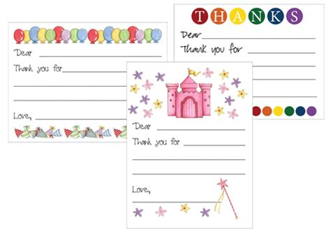 thank you card template for students printable thank you card templates new