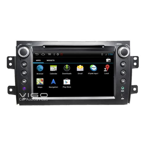 android 4 4 car stereo android 4 0 autoradio for suzuki sx4 2006 2012 car stereo gps sat nav navigation dvd player