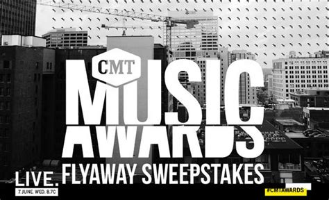 American Cash Awards Sweepstakes - the cmt music awards flyaway sweepstakes sweepstakes pit