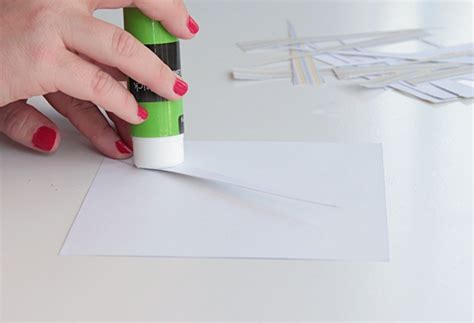 How To Make Rolling Paper Glue - make a gorgeous designer style geo necklace with paper