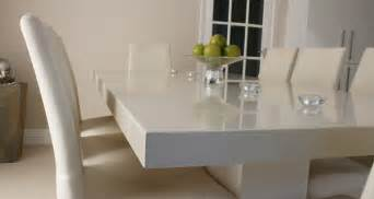 white marble top dining table set gallery