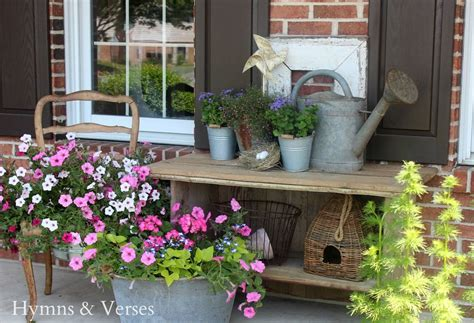 on the back porch with my french country home cedar hill hometalk vintage porches trash find redesigned s