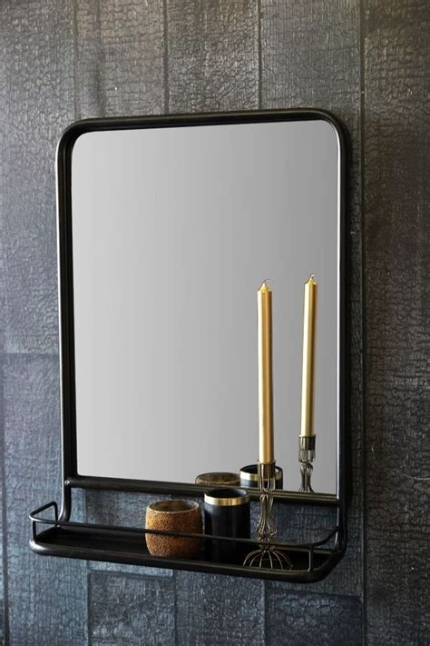 Mirror Shelf Bathroom Best 25 Mirror With Shelf Ideas On Wall
