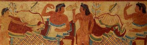 banchetto etrusco banchetti etruschi etruscan corner