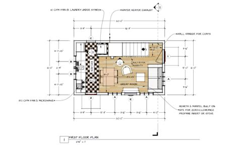 backyard building plans 440 sq ft tiny backyard cottage plans