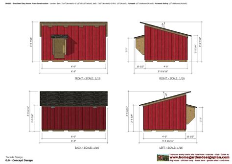 insulated dog house blueprints home garden plans dh100 insulated dog house plans dog