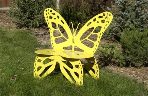 butterfly benches metal metal butterfly garden bench you can make your own
