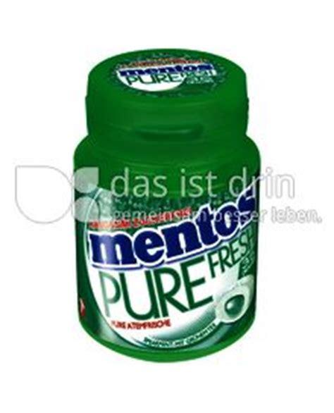 St Mentos mentos 180 0 kalorien kcal und inhaltsstoffe das