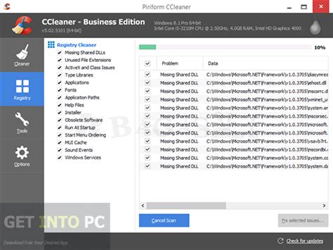 ccleaner getintopc ccleaner 5 08 5308 business espa 241 ol mg 1f