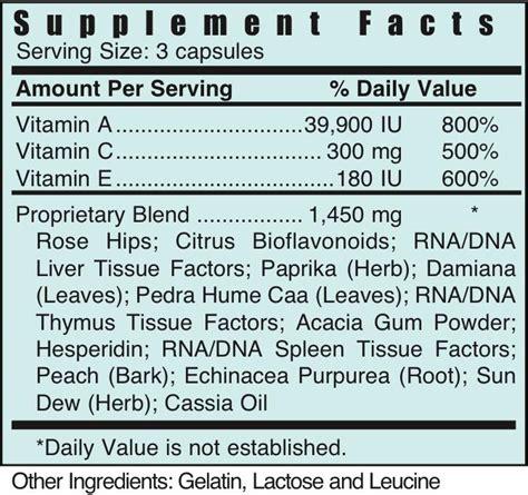 Acx Vitamin Detox by Acx Vitamin Detox Systemic Formulas