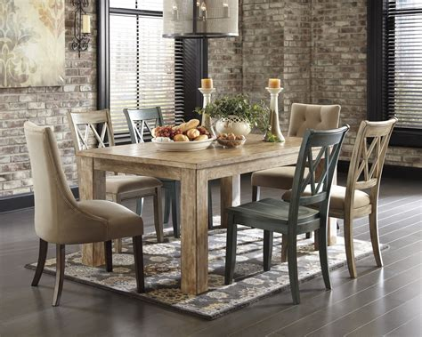 Mestler Dining Table by Buy Mestler Rectangular Dining Room Table By Signature