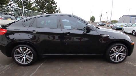2011 bmw x6 m 2011 bmw x6 m black blk14062 seattle renton