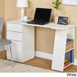 simple white desk offer cheap simple living como modern writing desk white sale