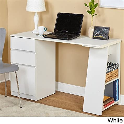 offer cheap simple living como modern writing desk white