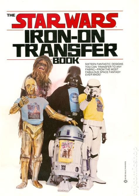 iron in my books wars iron on transfer book 1977 comic books