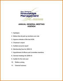 agenda for agm template search results for agm agenda sle calendar 2015