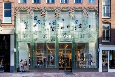Row House Nyc - chanel store amsterdam netherlands 187 retail design blog