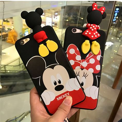 Softcase 3d Stich Oppo F1s for oppo f1s 3d minnie cases lying mickeys mouse hello tpu soft for oppo neo9