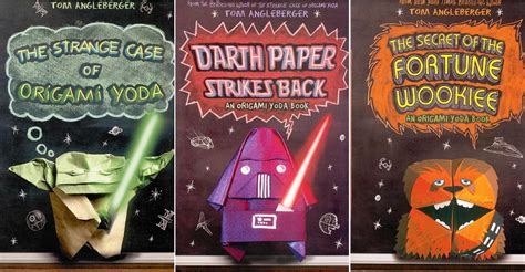 Origami Yoda Book Series - great gift ideas for tween boys