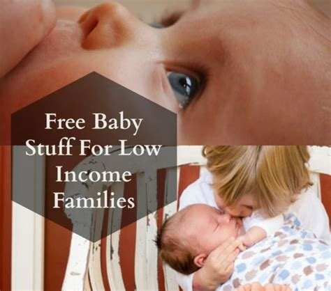 help for low income families to buy a house free baby stuff for low income families