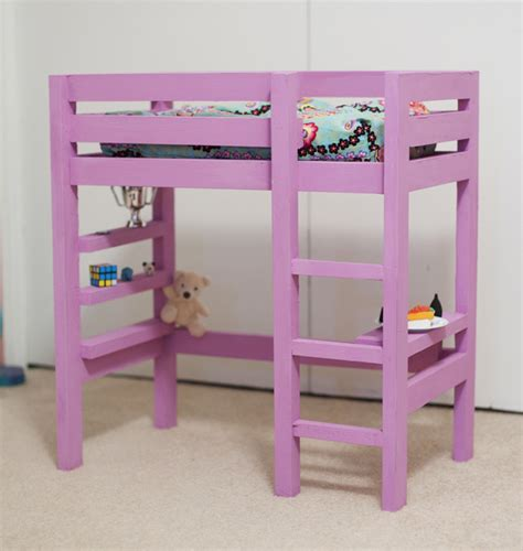 bunk beds for dolls ana white doll bunk bed plan with a bit of the loft bed