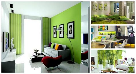 lime green living room designs