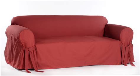 slipcover shop classic slipcovers cotton duck one piece loveseat