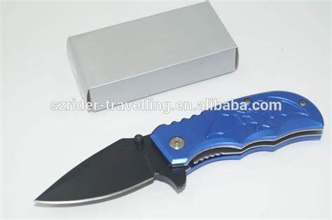 folding knife blanks oem promotion blue bat wholesale folding pocket knife