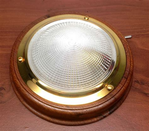 marine boat trailer rv ceiling cabin dome light pc lens