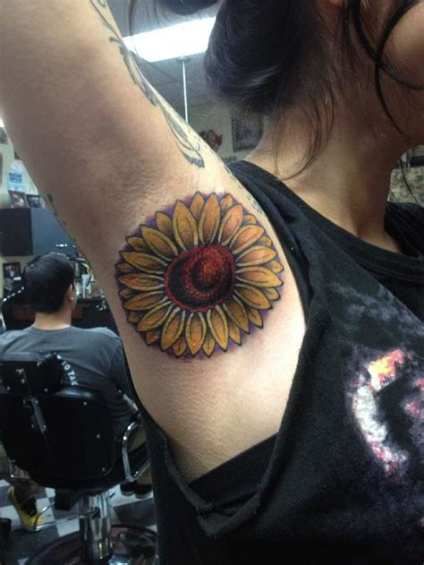 Flower Tattoo Underarm | 33 best images about armpit tattoos on pinterest