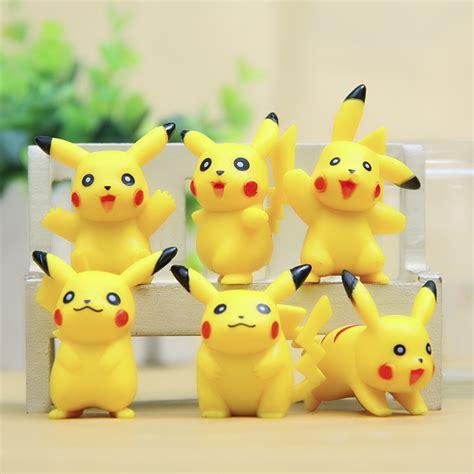Pajangan Mobil Pikachu 1 jual mainan anak mini figure figurine pajangan pikachu toys land